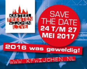 Save the dat e Kasteelfeesten Wijchen 2017